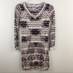 Missoni • Purple Sweater Dress